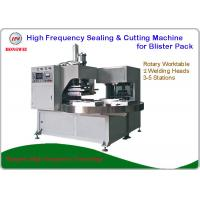 Quality Double Head Rotary Blister Packing Machine For Tools And Household Appliance Clamshell for sale