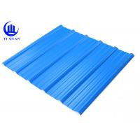Quality Fire Proof Plastic Corrugated Plastic Roof Panels Long Customized for sale