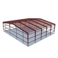 Low Costs Prefab Workshop Steel Structure Buildings Steel Truss Main Frame for sale