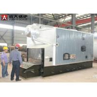 SZL Double Drum Wood Steam Boiler With 0.7MPa - 3.6MPa Pressure ISO9001 for sale