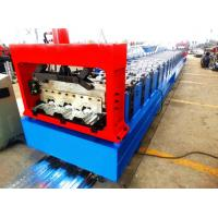 Quality Motorized 0.8MM - 1.2MM Roll Forming Machine Professional With 28 Stations for sale