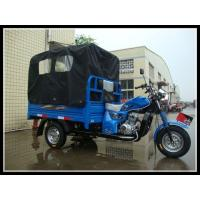 Heavy Loading Chinese 3 Wheeler With Cabin / Three Wheel Cargo Tricycle for sale