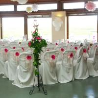 Quality hotel wedding banquet restaurant chair cover for sale