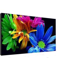 Quality 46 Inch Indoor Video Wall 3x3 3840*2160 Max Resolution Vivid Image Outline for sale