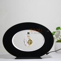 Quality 3mm Advertising Display Stand Floating Magnetic Display Wirst Watch Oval Shaped for sale