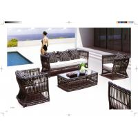 Quality new product garden sofa set hotel Leisure Rattan Sofa for sale