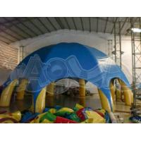 Quality Blue Inflatable Lawn Tent for sale