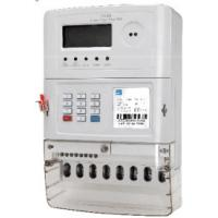 Quality Ultrasonic Welded STS Prepaid Meters , 3 Phase 3 Element 4 Quadrant Electric Meter for sale
