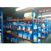 Quality Storage Steel Plate Medium Duty Racks / Long Span racking For Factory / Industrial 1500L*600D*2000H mm for sale
