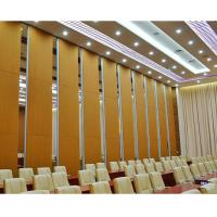 Quality Fireproof Movable Sound Proofing Conference Room Dividers Melamine Board for sale