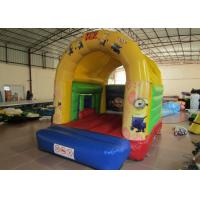 Quality Outdoor Inflatable Jump House Silk Printing 4.2 X 4m Safe Nontoxic Customized for sale