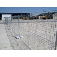 Quality Australia Standard AS 4687-2007 Galvanized construction site temporary fencing for sale