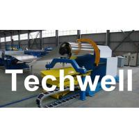 Quality 10 Ton Hydraulic Uncoiler Curving Machine With Coil Car With Coil Width 1500mm for sale
