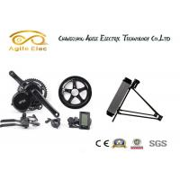 Quality 48V 500W Bafang Drive Electric Bicycle Motor Kit With Rear Rack Type Battery for sale