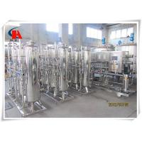 Quality Reverse Osmosis Industrial Water Treatment Systems High Flow For Ground Water for sale