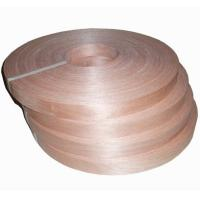 Buy Natural Chinese Cherry Wood Veneer Edge Banding Tape/Rolls at wholesale prices