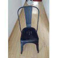 Quality Modern Metal Tolix Chair With Backrest , Tolix High Back Stool For Home / Restaurant for sale