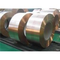 Quality CuSn5 - UNS.C51000 Phosphor Bronze Strips for sale