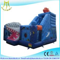 Buy cheap Hansel terrfic shark inflatable stair slide for yard party from wholesalers