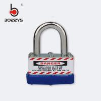 Quality Wholesale Stainless Steel Hardened Laminated Padlock , Master Lock Padlock BD-J44 for sale