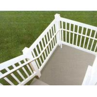 Quality silver Exterior Aluminum Hand Railings with T4 , T5 , T6 Temper for sale