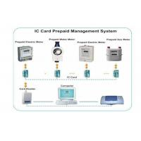 Quality Stable Prepaid Electricity System , IC Card Reader / Writer Prepaid Water System for sale