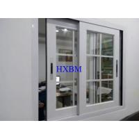 Good Sealing Double Glazed Sliding Windows , Convenient Aluminium Fabrication Window for sale