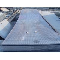 Quality Custom cut 914 - 1500mm GB, Q235, Q345, DIN1623 Hot Rolled Checkered Steel Plate / Sheets for sale