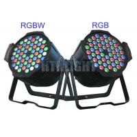 China 4000Hz Refresh Rate 54 X 3W Ip20 Rgbw LED Stage Light / Led Theatre Lights on sale