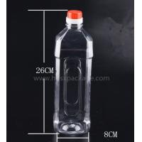 Buy PET 1000ml empty mineral water bottles with screw caps for drinking supply samples at wholesale prices
