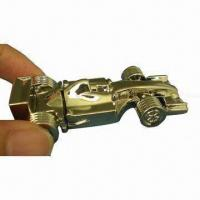 Quality USB Flash Drive in F1 Car Shape, with Laser Engraved Logos, 512MB to 8GB Capacity for sale