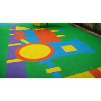 Quality Anti - Static EPDM Rubber Flooring , Colorful Outdoor Play Area Flooring for sale