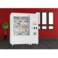 Quality Bus Station Mini Mart Vending Machine , Snack Vending Kiosk With Big Touch Screen for sale