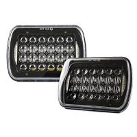 Quality 5D Lens Car LED Headlights 7x6 Projector Headlights For H6054/H5054/H6054LL for sale