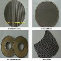 Buy Different shape of Stainless Steel Disc Filter Screen mesh for filter element at wholesale prices