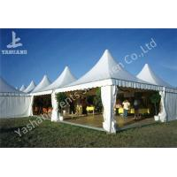Buy cheap Weather Resistant Array Pagoda White Luxury Wedding Marquee High Peak Aluminum Tent from wholesalers