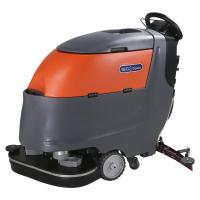 Quality Two Brushes Battery Powered Compact Floor Scrubber Cleaning Machine High Efficiency for sale