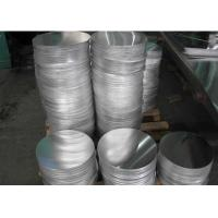 Quality 1100 Grade Cookware Aluminum Circles , Utensils Recycling Aluminium Circle Plate for sale