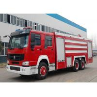 China 20CBM LHD 6X4 Fire Fighting Truck , Emergency Foam Fire Rescue Trucks on sale