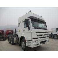 China Tractor Truck Cab Semi Trailer Truck , Prime Mover Truck With One Berth on sale