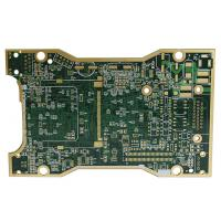 Quality Single Panel Green Color TG170 Multilayer PCB Board ENIG Surface Treatment for sale