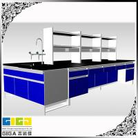 China GIGA  steel epoxy power coating chemistry laboratory furniture on sale