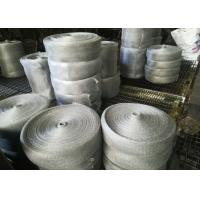 Quality Multifilament Engineering Stainless Steel Knitted Mesh For Shielding / Filtering for sale