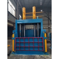China Used Tire Baler For Sale Vertical Hydraulic Scrap Tire Baling Baler Machine For Sale on sale