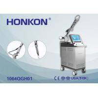 Quality Acne Treatment Pigment Removal Q Switch Nd YAG Laser Machine 1 Hz -10 Hz for sale