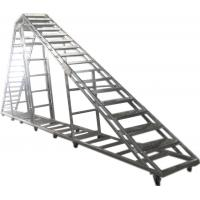 Quality Splice / Burliness Aluminum Walking Stair , Portable Stage Platform For Art House for sale