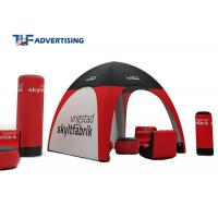 Small Inflatable Advertising Tent , Inflatable Tailgate Tent Commercial Grade Sewing Style for sale