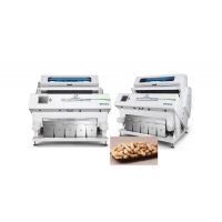 Quality Food Materials 3kw 15T/H Peanut Nuts Color Sorter for sale