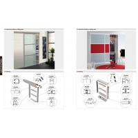 Quality 6063 T5 Matt aluminum wardrobe profile, wardrobe profile,SS brush aluminum profile for sale