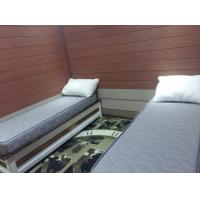 Quality Beach hotel bedroom with WPC wall panel for sale